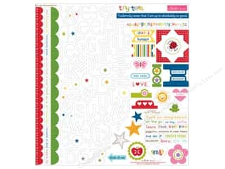 Bella Blvd Stickers Tiny Tots Treasures & Text (12 set)
