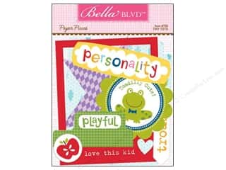 Paper Pieces Scrapbooking & Paper Crafts: Bella Blvd Die Cut Paper Pieces Tiny Tots