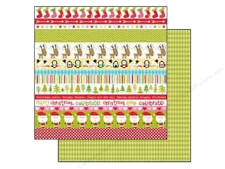 Bella Blvd 12 x 12 in. Paper Christmas Cheer Borders (25 piece)