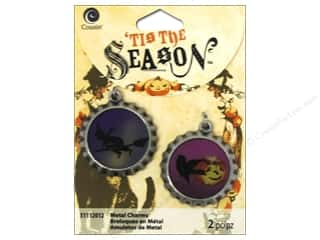 Charms and Pendants Halloween: Cousin Tis The Season Halloween 2014 Charms Witch/Raven