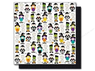 Cards Halloween: Bella Blvd 12 x 12 in. Paper Halloween Magic Boo Buddies (25 pieces)