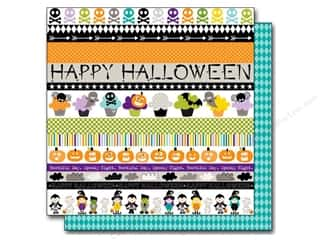 Cards Halloween: Bella Blvd 12 x 12 in. Paper Halloween Magic Borders (25 pieces)