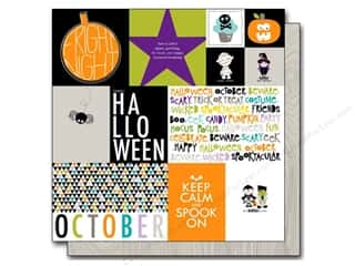 Cards Halloween: Bella Blvd 12 x 12 in. Paper Halloween Magic Daily Details (25 pieces)