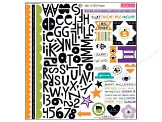 Bella Blvd Stickers Halloween Magic Treasures & Text (12 piece)