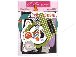Paper Pieces Scrapbooking & Paper Crafts: Bella Blvd Die Cut Paper Pieces Halloween Magic