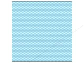 Canvas Corp 12 x 12 in. Paper Blue & Ivory Mini Dot Reverse (15 piece)