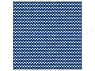 Papers Blue: Canvas Corp 12 x 12 in. Paper Navy & Ivory Mini Dot Reverse (15 pieces)