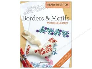 Book-Needlework: Search Press Ready To Stitch: Borders & Motifs Book