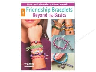 Leisure Arts Beading & Jewelry Making Supplies: Leisure Arts Friendship Bracelets Book