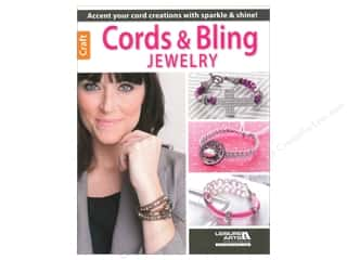 Leisure Arts Beading & Jewelry Making Supplies: Leisure Arts Cords & Bling Jewelry Book