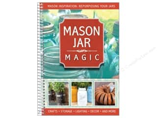 North Light Books Home Decor: CQ Products Mason Jar Magic Book