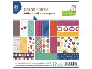 "Weekly Specials Paper Packs: Lawn Fawn Sweater Weather Paper Pack 6""x 6"""