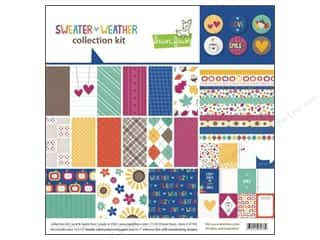 Autumn Leaves Stickers: Lawn Fawn Sweater Weather Collection Kit