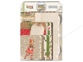 Bo Bunny $16 - $20: Bo Bunny Misc Me Journal Contents Christmas Collage