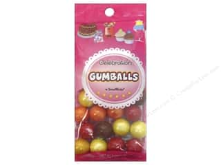 Sweet Works 20mm: SweetWorks Celebration Gumballs 8oz Autumn Mix