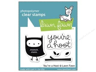 Clearance Plaid Stamps Clear: Lawn Fawn Clear Stamp You're A Hoot