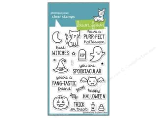 Clearance Plaid Stamps Clear: Lawn Fawn Clear Stamp Spooktacular