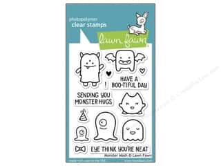 Clearance Plaid Stamps Clear: Lawn Fawn Clear Stamp Monster Mash