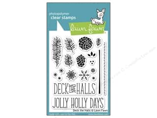 Lawn Fawn Clear Stamp Deck The Halls