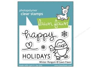Lawn Fawn Clear Stamp Winter Penguin