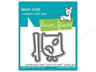 Lawn Fawn Lawn Cuts Die You're A Hoot