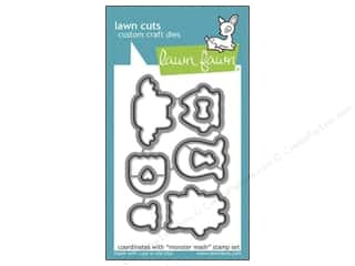 Weekly Specials Paper Packs: Lawn Fawn Lawn Cuts Die Monster Mash