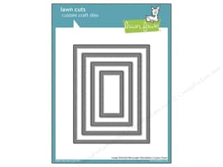 Dies Hot: Lawn Fawn Lawn Cuts Die Stack Large Stitched Rectangle