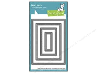 Hot $0 - $4: Lawn Fawn Lawn Cuts Die Stack Small Stitched Rectangle