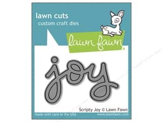 Lawn Fawn Lawn Cuts Die Scripty Joy