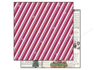 Bo Bunny 12 x 12 in. Paper Candy Cane Lane December (25 piece)