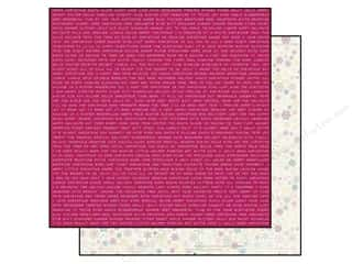winter clearance craft: Bo Bunny 12 x 12 in. Paper Candy Cane Lane Naughty Or Nice (25 pieces)