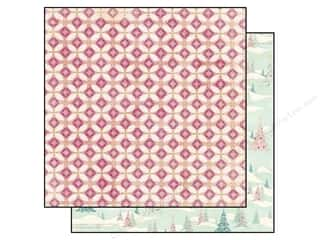 Bo Bunny 12 x 12 in. Paper Candy Cane Lane Sleigh Ride (25 piece)