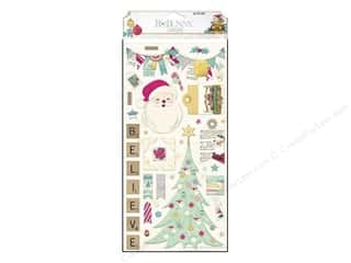 Bo Bunny Chipboard Candy Cane Lane
