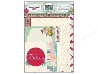 Bo Bunny Misc Me Journal Contents Candy Cane Lane