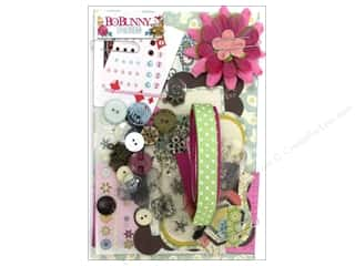 Charms and Pendants Hot: Bo Bunny Ephemera Candy Cane Lane