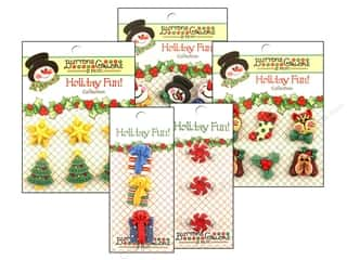Scrapbooking Sale: Button Galore Holiday Fun, SALE $1.59-$3.89.