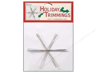 Ornaments: Darice Snowflake Ornament Form Medium 7pc
