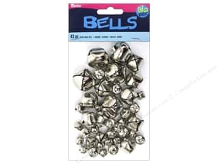 Darice Bells Jingle Astd Silver 43pc