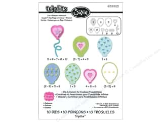 Kid Crafts Party & Celebrations: Sizzix Dies Set Stephanie Barnard Balloons