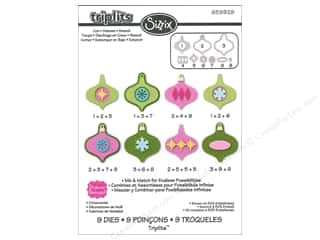 Sizzix Christmas: Sizzix Dies Set Stephanie Barnard Ornaments
