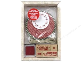 Plus Christmas: Hero Arts Ink N Stamp Kit Ornament