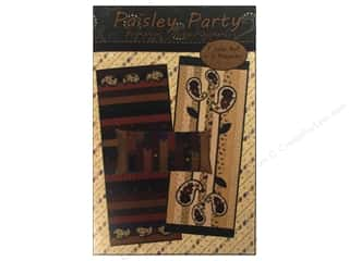 Design Originals Stars: Kansas Troubles Quilters Paisley Party Pattern