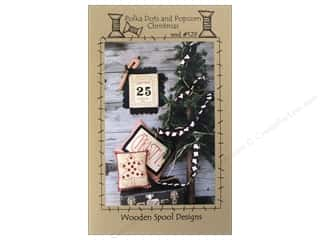 Calendars Books & Patterns: Wooden Spool Designs Polka Dots and Popcorn Pattern