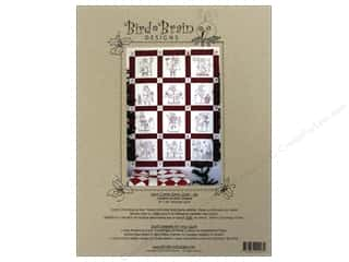 Straight Stitch Quilting Patterns: Bird Brain Designs Here Comes Santa Quilt Pattern