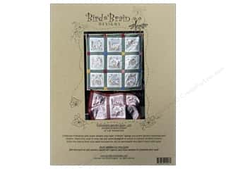 "Bird Brain Design 14"": Bird Brain Designs Friendship Garden Quilt Pattern"