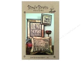 Bird Brain Design Stitchery, Embroidery, Cross Stitch & Needlepoint: Bird Brain Designs Every Birdie Blackwork Pattern