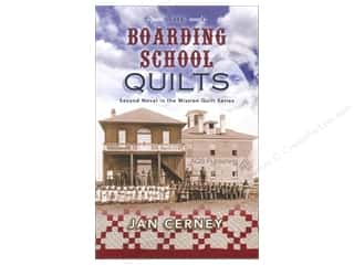 New Year: American Quilter's Society The Boarding School Quilts Book by Jan Cerney