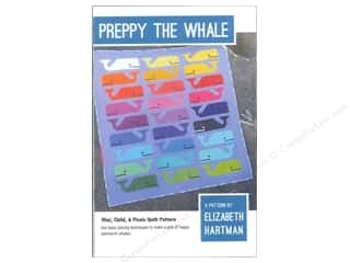 Beach & Nautical inches: Elizabeth Hartman Preppy The Whale Pattern