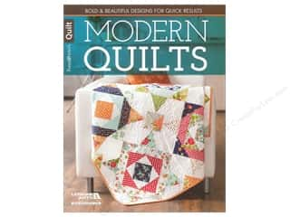 Quilting Books & Patterns: Leisure Arts Fons & Porter Modern Quilts Book