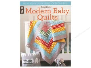 Leisure Arts Baby: Leisure Arts Fons & Porter Modern Baby Quilts Book